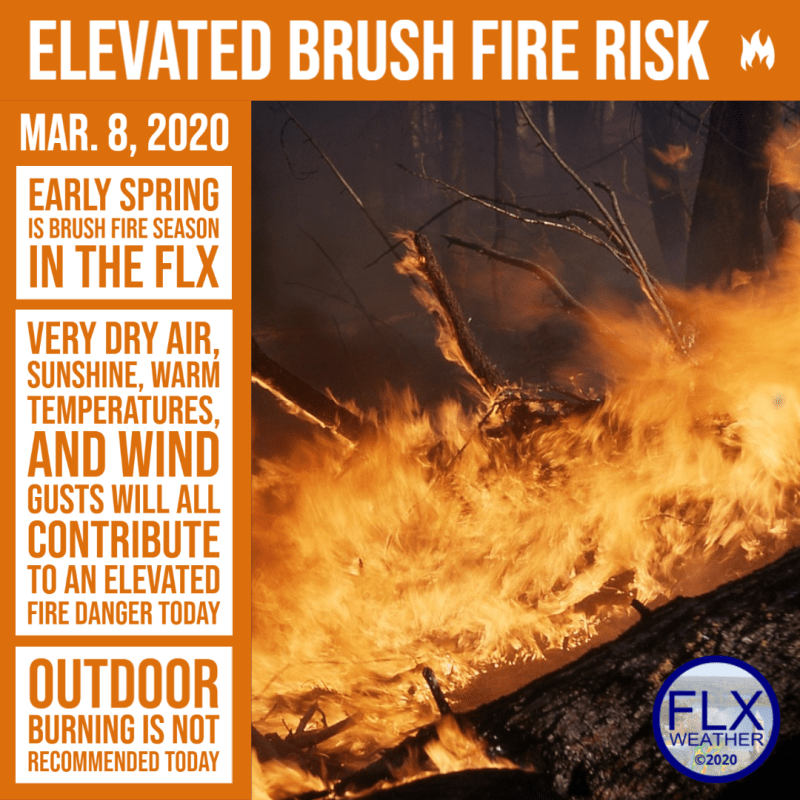 finger lakes weather brush fire risk sunday march 8 2020