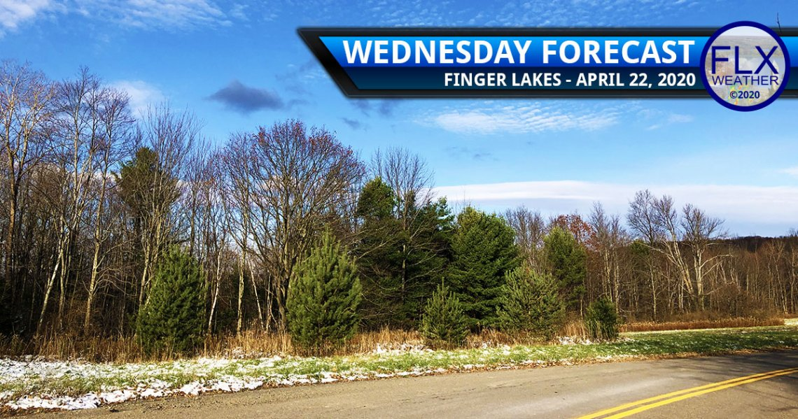 finger lakes weather forecast wednesday april 22 2020 cold windy sun snow