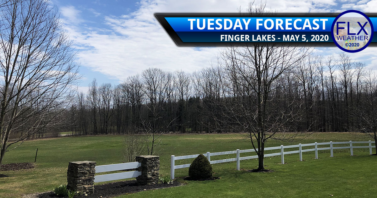 finger lakes weather forecast tuesday may 5 2020 sun clouds cool below average temperatures