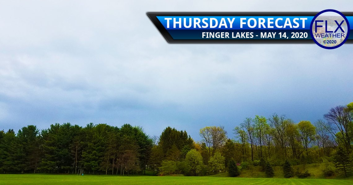 finger lakes weather forecast thursday may 14 2020 warm front rain thunderstorms friday