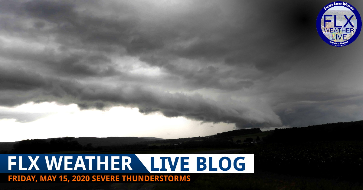 finger lakes weather forecast live severe thunderstorm updates friday may 15 2020