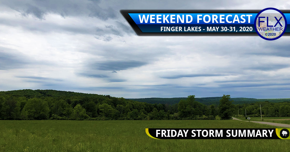 finger lakes weather forecast weekend saturday may 30 2020 sunday may 31 2020