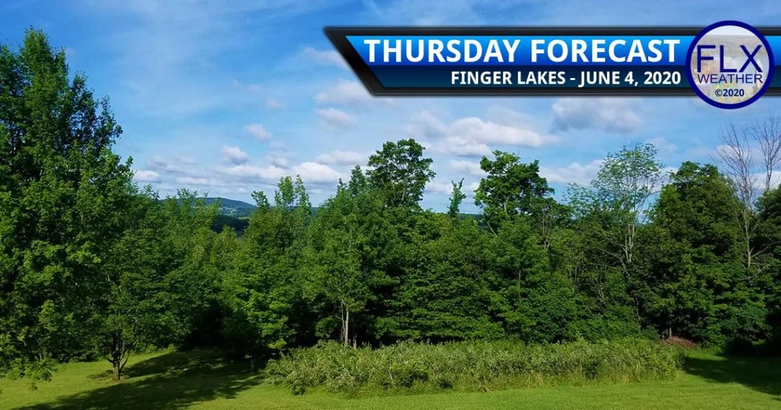 finger lakes weather forecast thursday june 4 2020 sunny warm