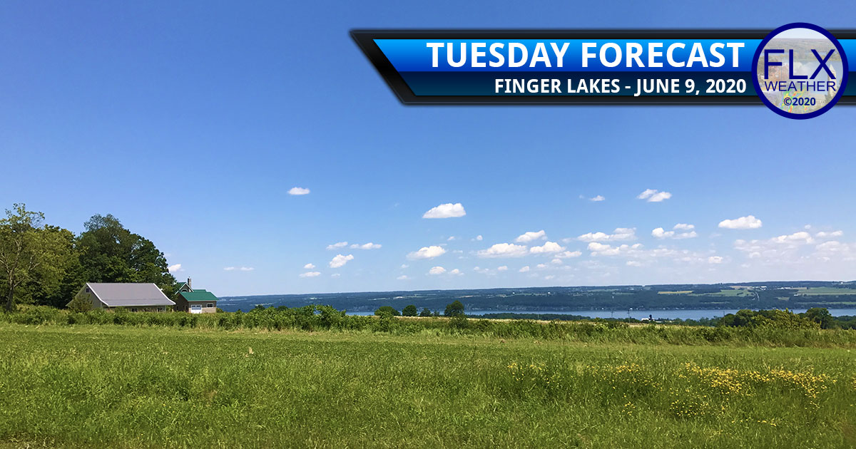 finger lakes weather forecast tuesday june 9 2020 hot humid