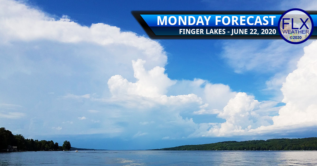 finger lakes weather forecast monday june 22 2020 hot thunderstorms