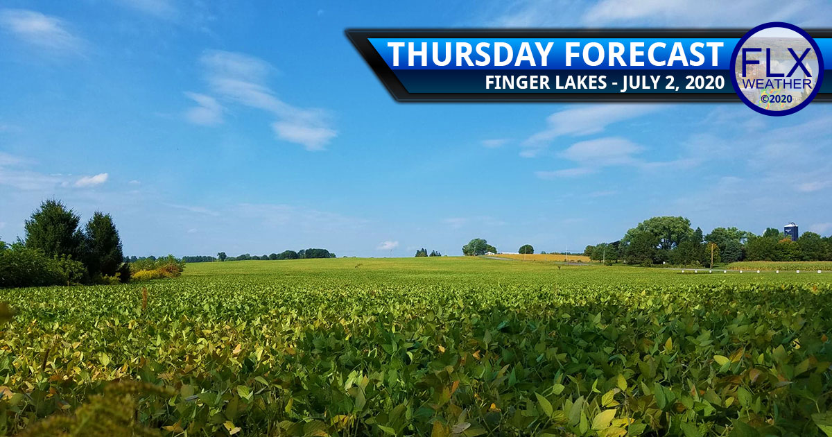 finger lakes weather forecast thursday july 2 2020 hot sunny