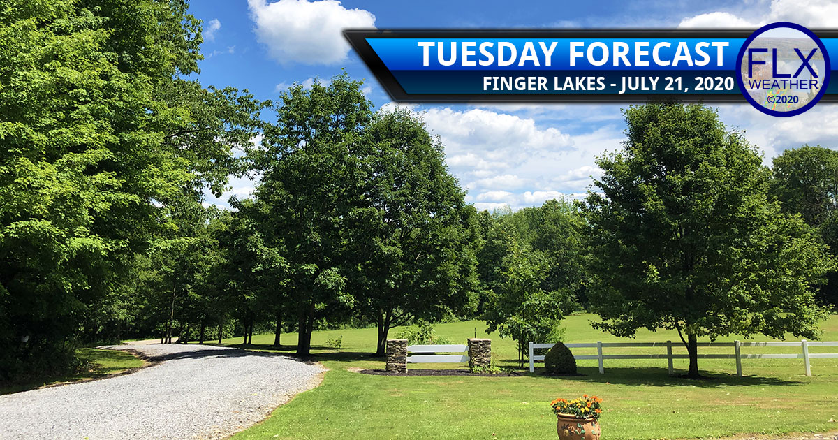 finger lakes weather forecast tuesday july 21 2020 sun clouds shower wednesday thunderstorms