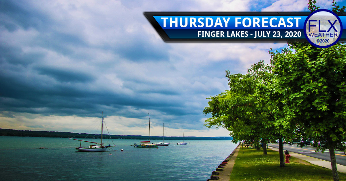 finger lakes weather forecast thursday july 23 2020 showers thunderstorms warm weekend