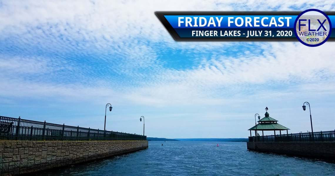 finger lakes weather forecast friday july 31 2020 sun clouds weekend weather storms sunday isaias