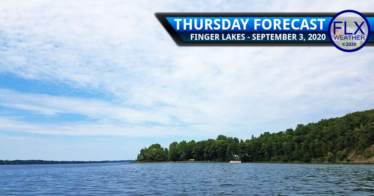 finger lakes weather forecast thursday september 3 2020 sun clouds dry cool