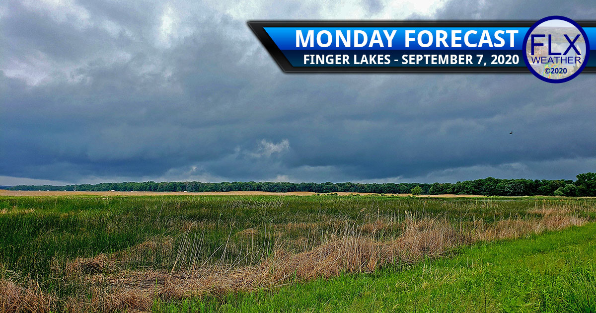 finger lakes weather forecast monday sepetember 7 2020 labor day showers thunderstorms
