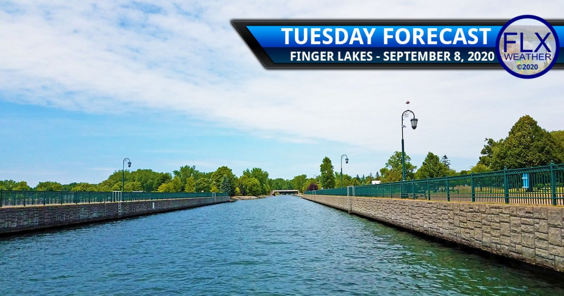 finger lakes weather forecast tuesday september 8 2020 front temperature swings