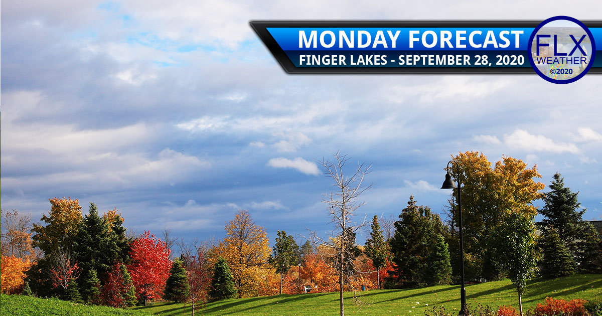 finger lakes weather forecast monday september 28 2020 mild cold front rain