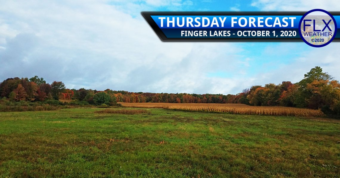 finger lakes weather forecast thursday october 1 2020 sun clouds showers