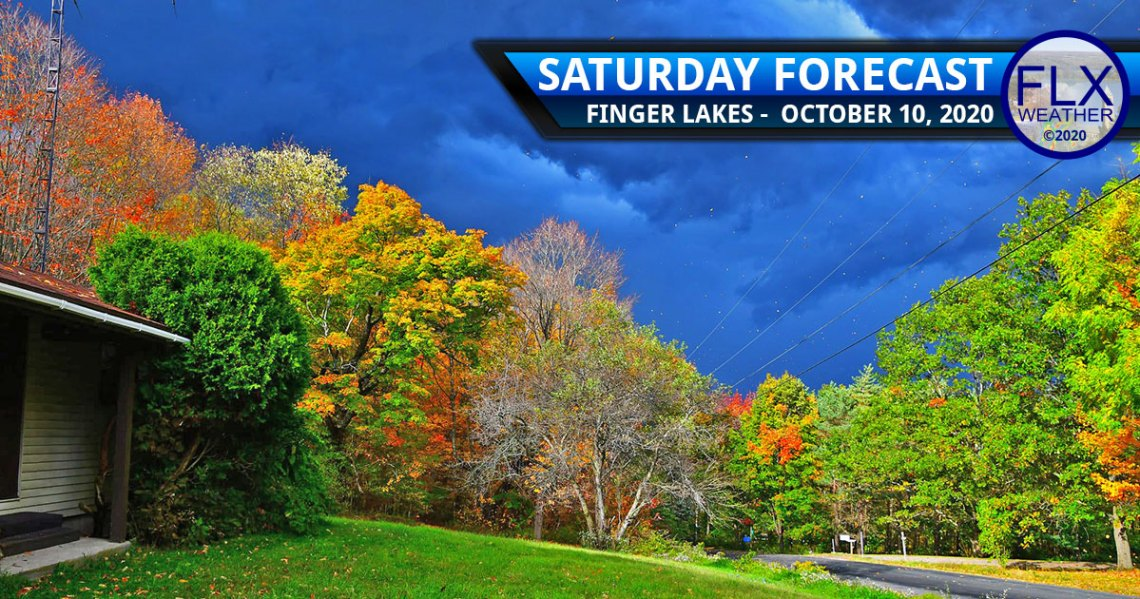 finger lakes weather forecast cold front thunderstorms gusty winds