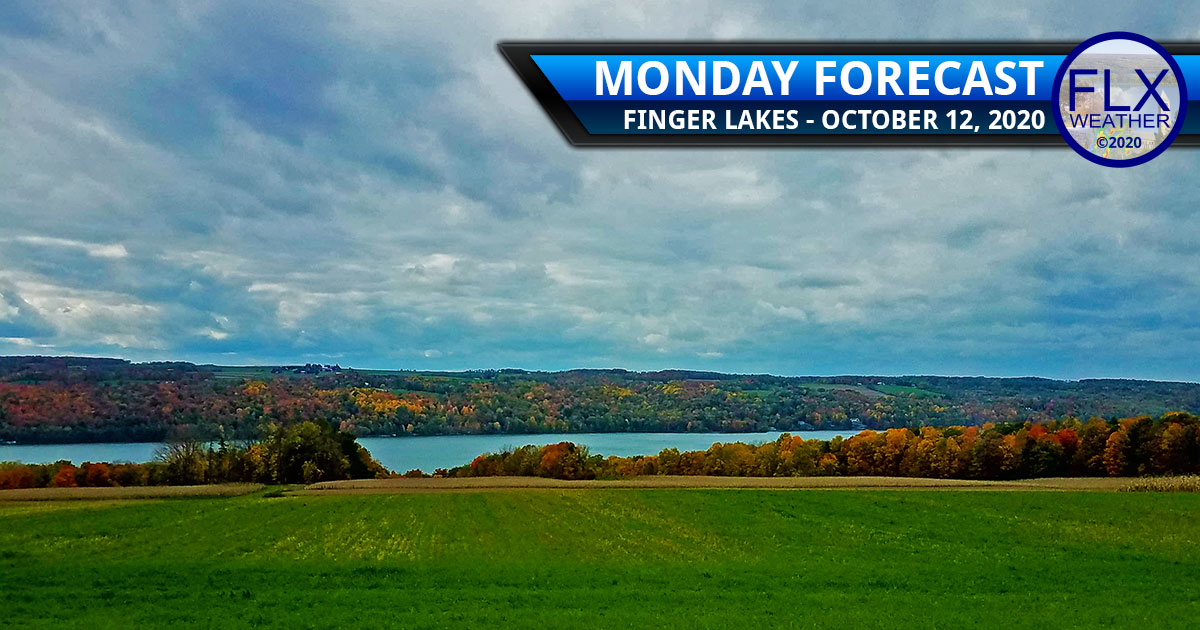 finger lakes weather forecast clouds breezy hurricane delta cold front showers