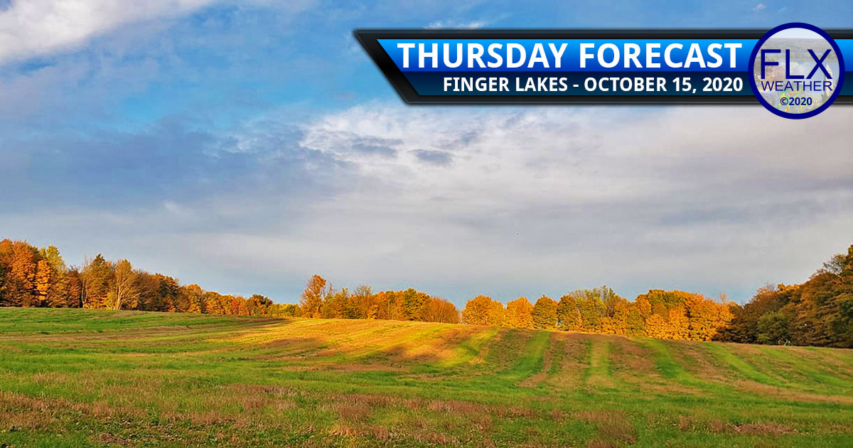 finger lakes weather forecast thursday october 15 2020 windy warm cold front temperature drop