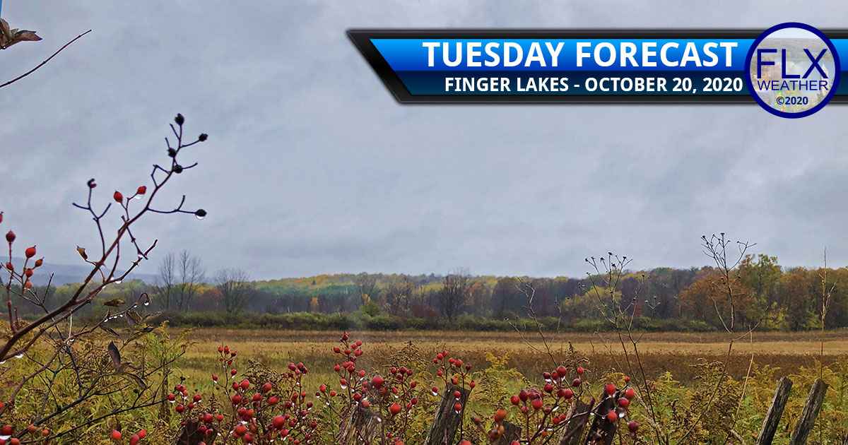 finger lakes weather forecast tuesday october 20 2020 rain showers front cool