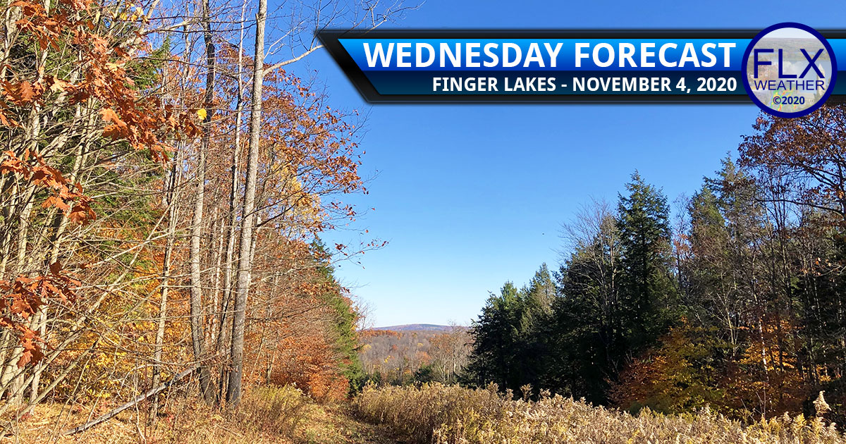 finger lakes weather forecast wednesday november 4 2020 sunny high pressure warming trend