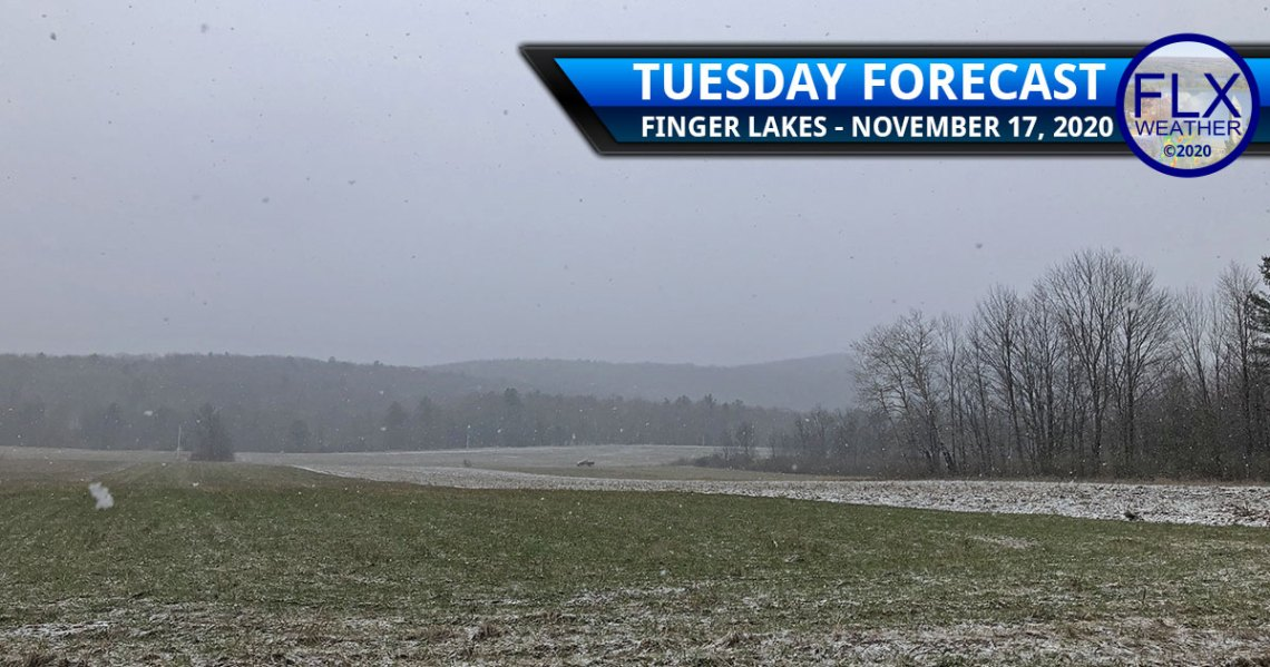 finger lakes weather forecast tuesday november 17 2020 lake effect snow breezy cool