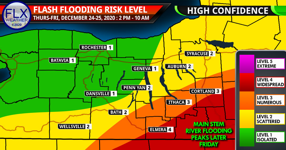 finger lakes weather forecast thursday december 24 2020 christmas eve flood