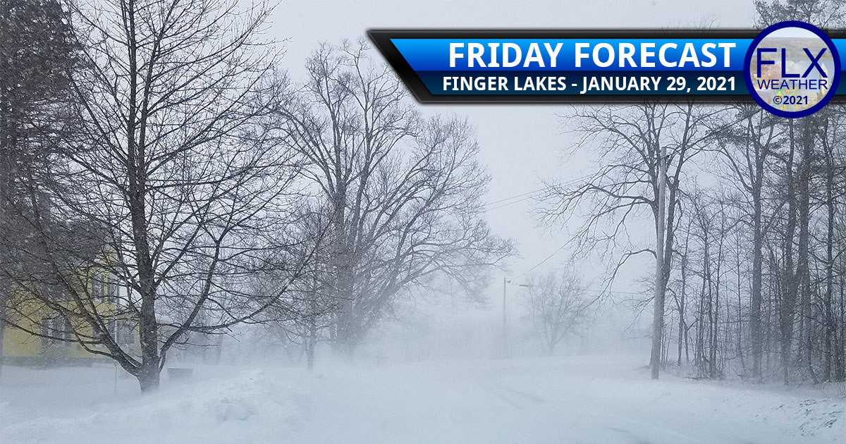 finger lakes weather forecast friday january 29 2021 snow lake effect blowing snow cold