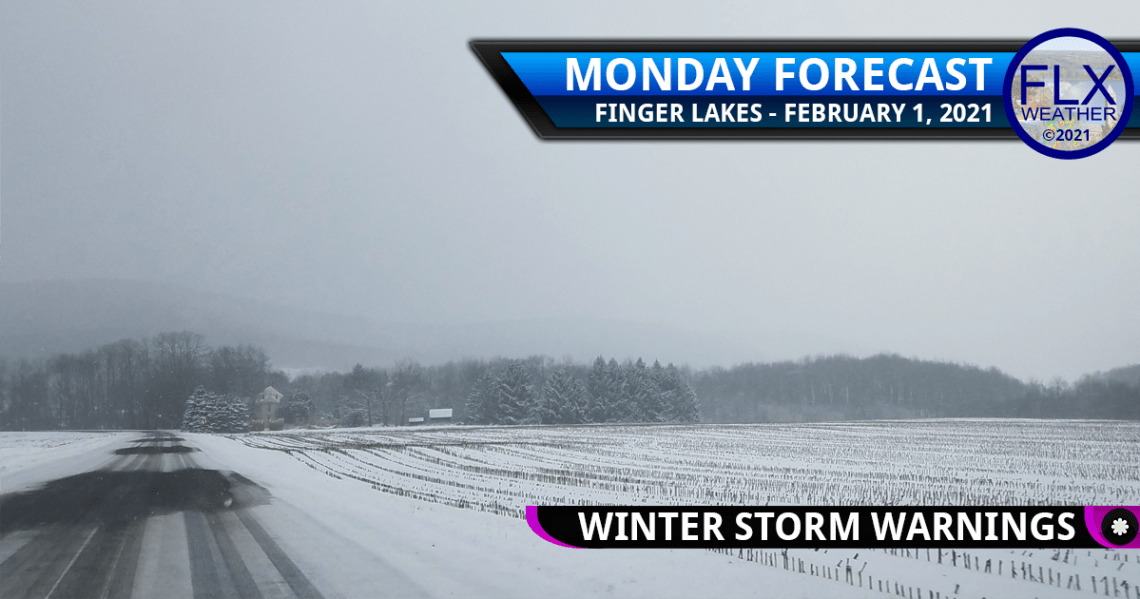 finger lakes weather forecast monday february 1 2021 winter storm updates