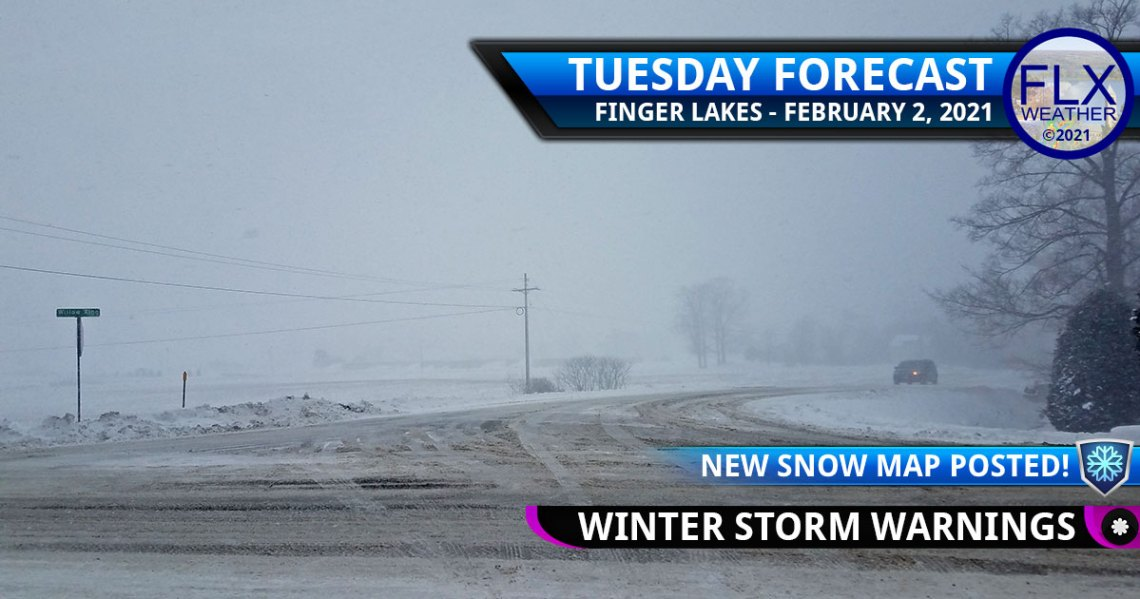 finger lakes weather forecast tuesday february 2 2021 winter storm update