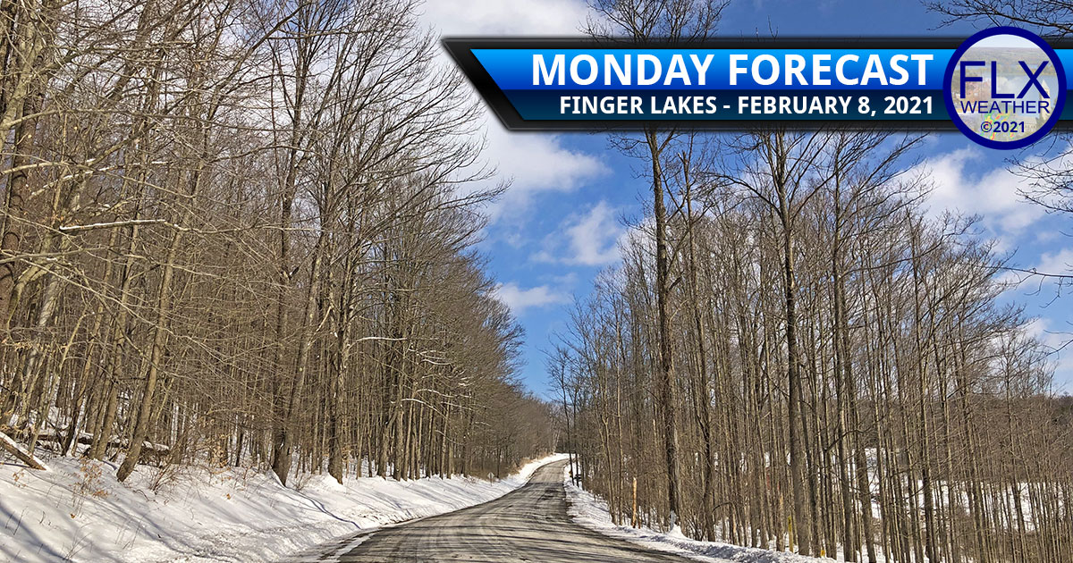finger lakes weather forecast monday february 8 2021 sunny high pressure cold lake effect snow