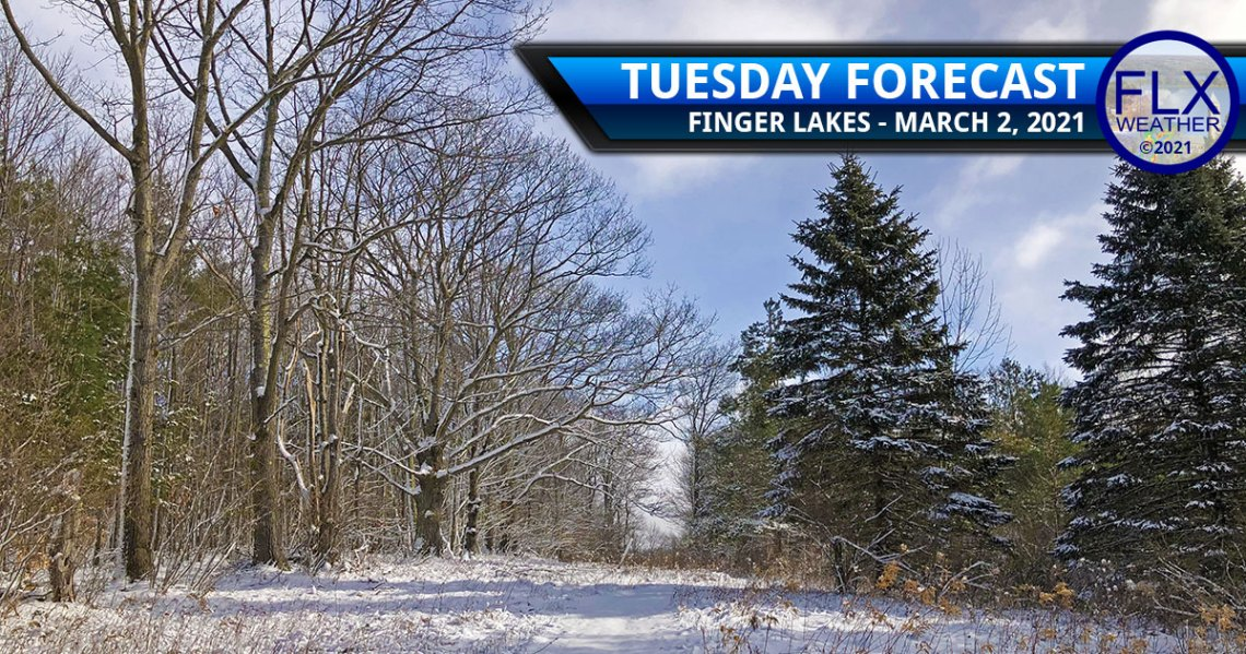 finger lakes weather forecast tuesday march 2 2021 high pressure sun snow blowing drifting winter travel