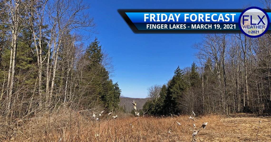 finger lakes weather forecast friday march 19 2021 sunny weekend warmup