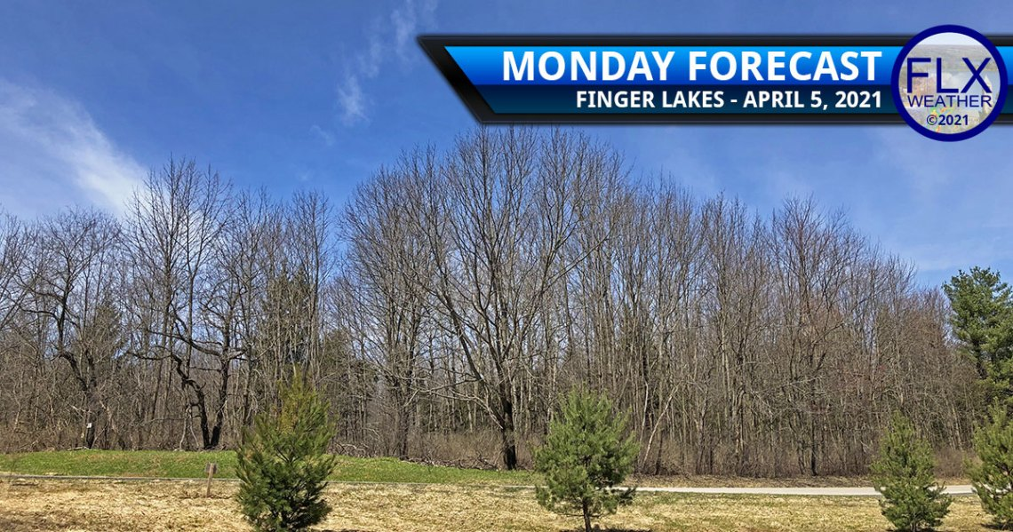 finger lakes weather forcast monday april 5 2021 sunny high pressure average temperatures
