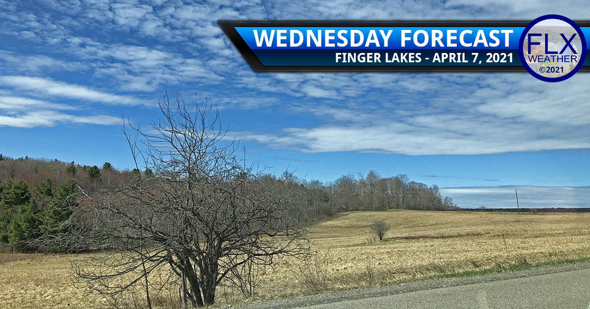 finger lakes weather forecast wednesday april 7 2021 sun clouds warming trend dry
