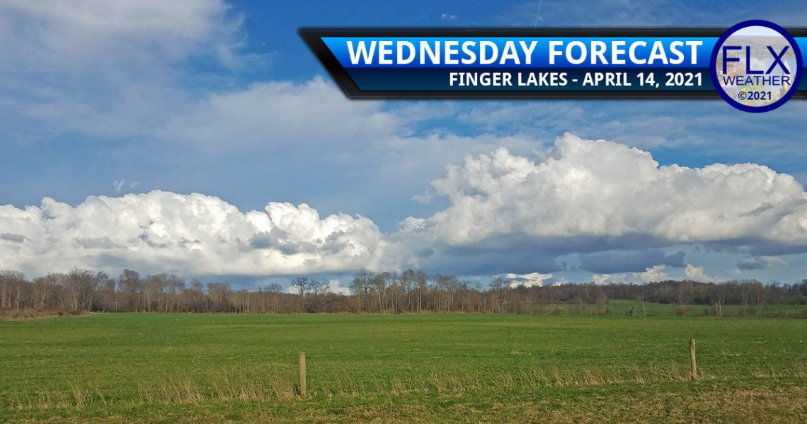 finger lakes weather forecast wednesday april 14 2021 sun clouds cold front showers