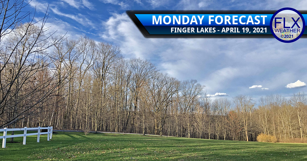 finger lakes weather forecast monday april 19 2021 cold front midweek snow