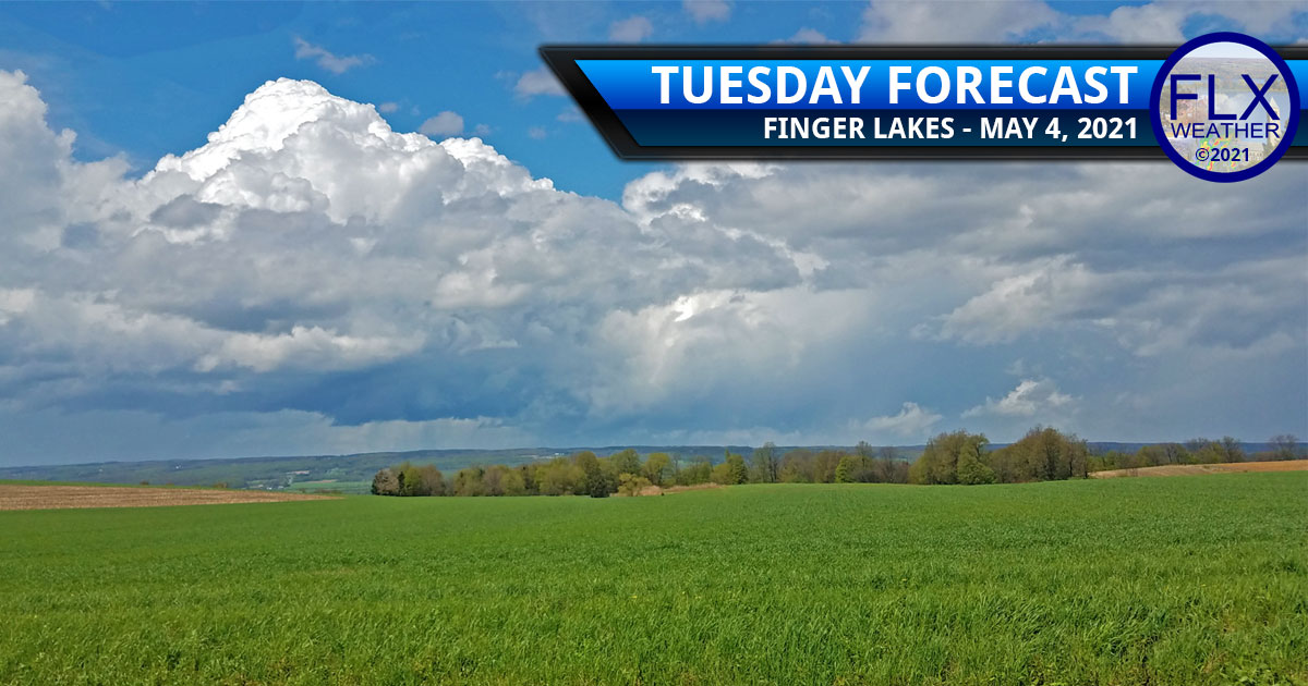 finger lakes weather forecast tuesday may 4 2021 sun clouds thunderstorms