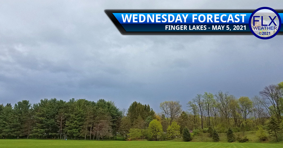 finger lakes weather forecast wednesday may 5 2021 cloudy rain cool cold front