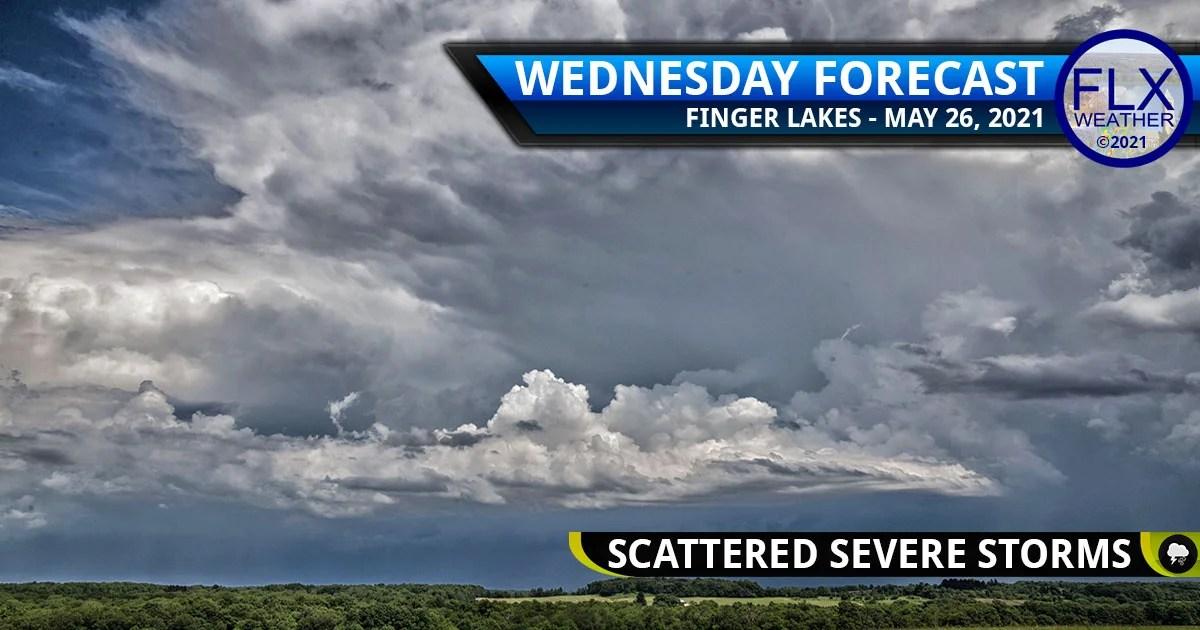 finger lakes weather forecast wednesday may 26 2021