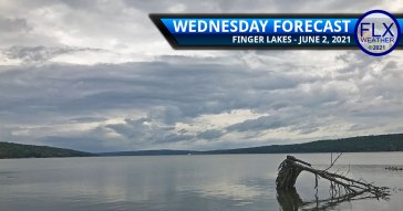 finger lakes weather forecast wednesday june 2 2021 rain showers thunderstorms