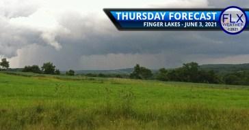 finger lakes weather forecast thursday june 3 2021 rain thunderstorms heavy rain