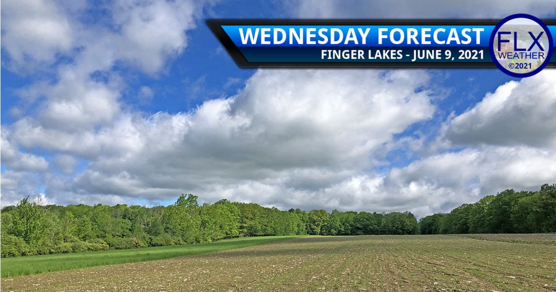finger lakes weather forecast wednesday june 9 2021 sun clouds showers humid