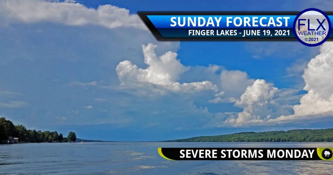 finger lakes weather forecast sunday june 20 2021 monday thunderstorms june 21 2021