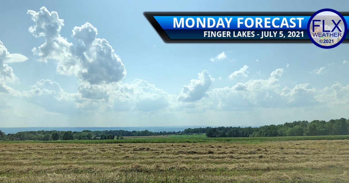 finger lakes weather forecast monday july 5 2021 hot unsettled