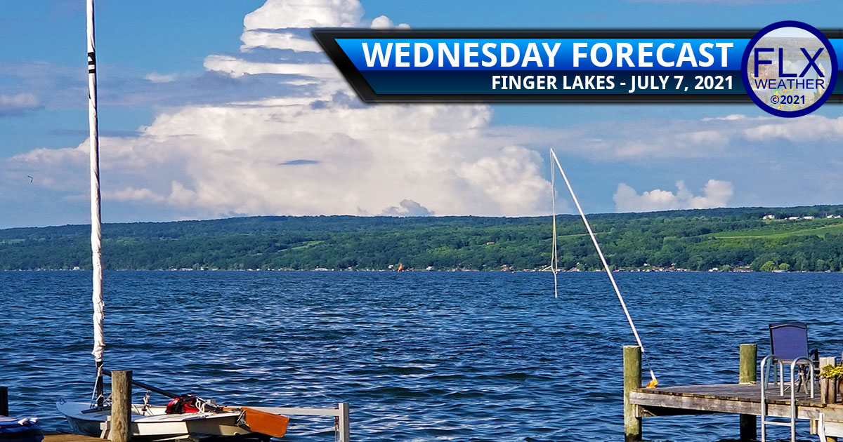 finger lakes weather forecast wednesday july 7 2021 sun clouds humid showers storms heavy rain