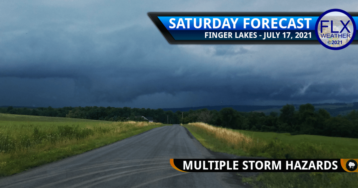 finger lakes weather forecast saturday july 17 2021 severe thunderstorms flash flooding