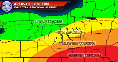 finger lakes weather forecast saturday july 17 2021 areas of concern