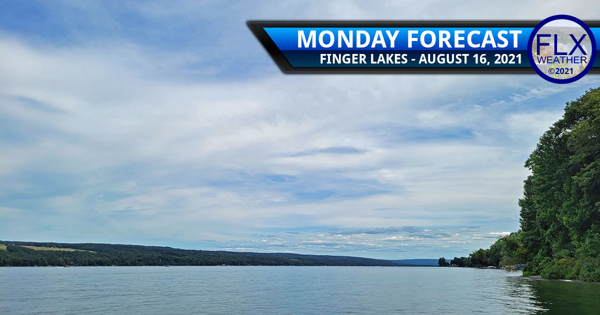 finger lakes weather forecast monday august 16 2021 clouds humid tropical storm fred rain