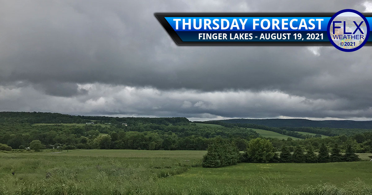 finger lakes weather forecast thursday august 19 2021 clouds rain tropical storm fred