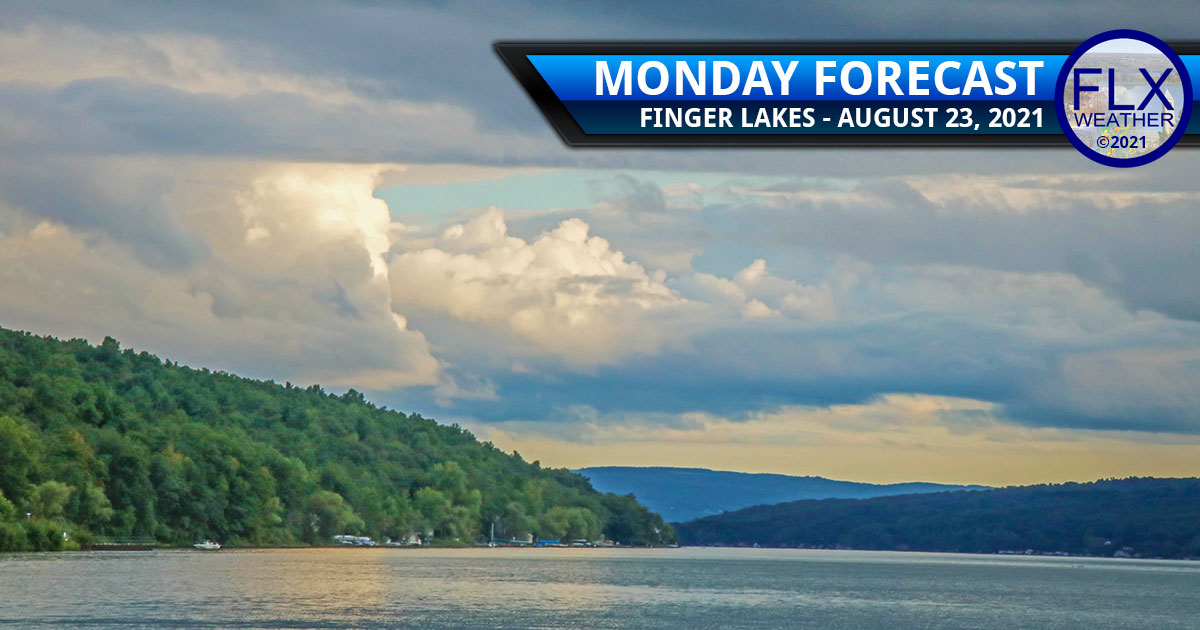finger lakes weather forecast sun clouds henri rain downpours hot humid