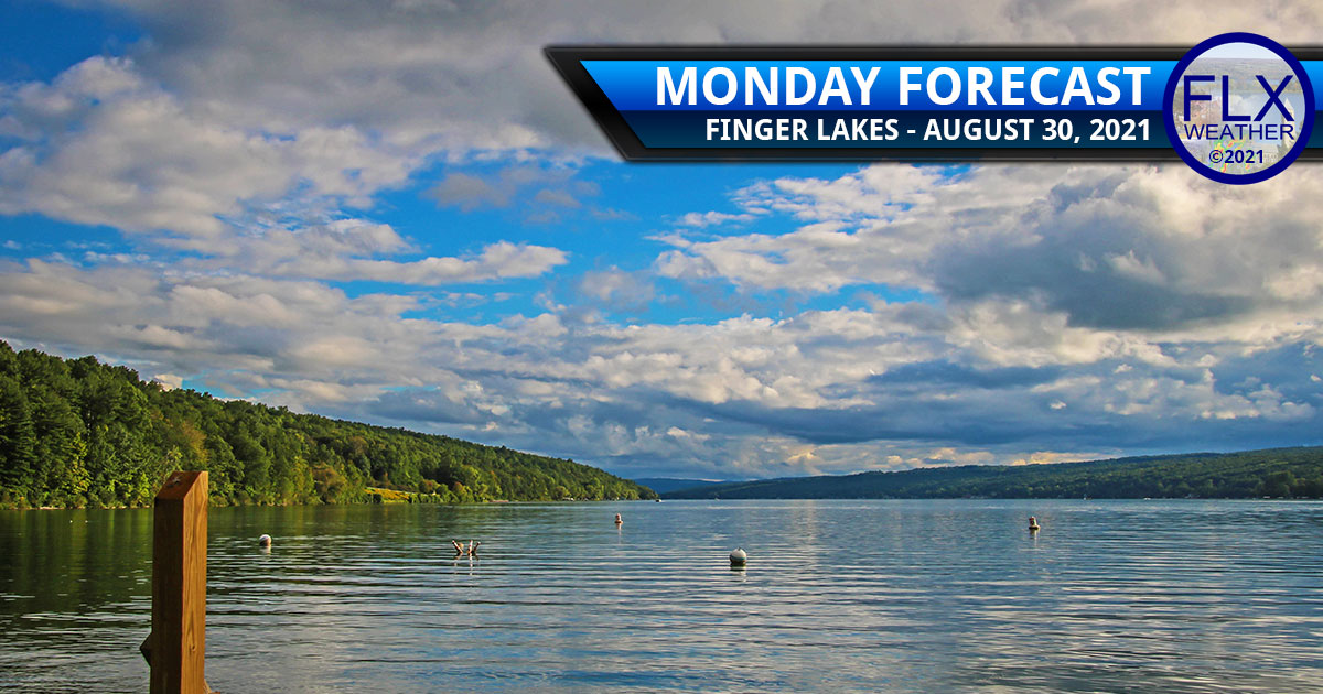 finger lakes weather forecast monday august 30 2021 cold front humidity hurricane ida